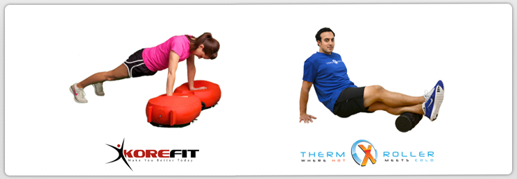 ThermXRoller & KoreFit = Solid Fitness
